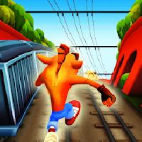 subway crash jungle fox bandi. 3d game adventures gameskip