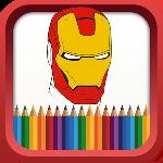 superhero coloring book gameskip