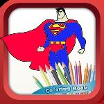 superheroes coloring book gameskip
