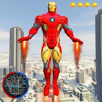 super iron rope hero - fighting gangstar crime gameskip
