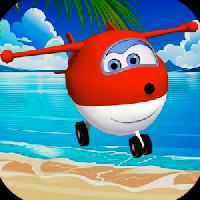 super kid plane gameskip