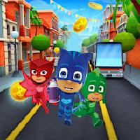 super pj masks hero run gameskip