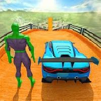 superhero gt racing car stunts: new car games 2020 gameskip