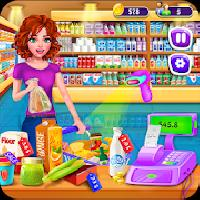 supermarket girl cashier game - grocery shopping gameskip