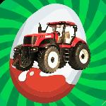 surprise egg tractor game gameskip