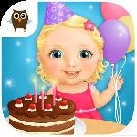sweet baby girl - birthday gameskip
