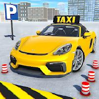 taxi car parking: modern car drive 3d gameskip