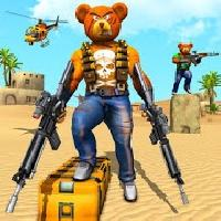 teddy bear gun strike game: counter shooting games gameskip