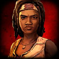 the walking dead: michonne gameskip