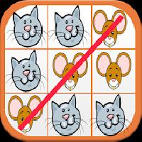 tic tac toe - cat vs mouse gameskip