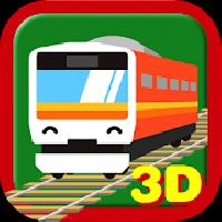 touch train 3d (full version) gameskip