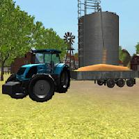 tractor 3d: grain transport gameskip