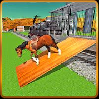 transport train: farm animals gameskip