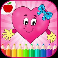valentines game coloring book gameskip