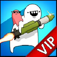 vip missile dude rpg: tap tap missile