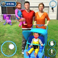 virtual mommy new born twins baby care family fun gameskip