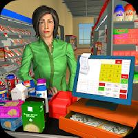 virtual supermarket grocery cashier 3d family game gameskip
