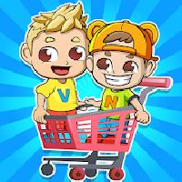 vlad and nikita supermarket game for kids gameskip
