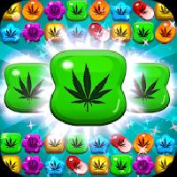 weed crush match 3 candy - ganja gameskip