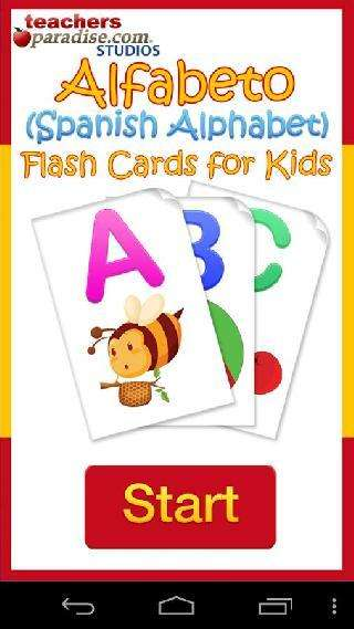 alfabeto kids spanish alphabet