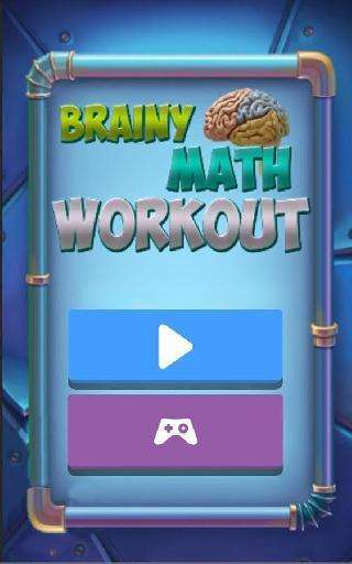 brainy maths workout