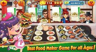 cooking games for girls - burger chef and food fever