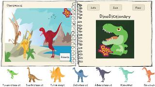 dinosaurs cartoon dictionary