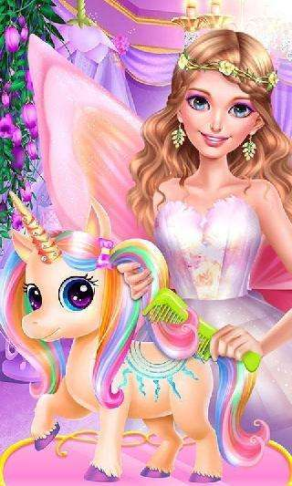 fairy princess unicorn salon