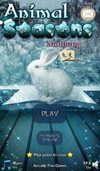 hidden mahjong: animal seasons