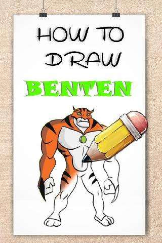 how to draw cartoon ben 10 step by step