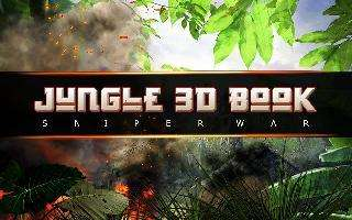 jungle 3d book : sniper war