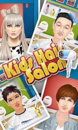 kids hair salon: kids games
