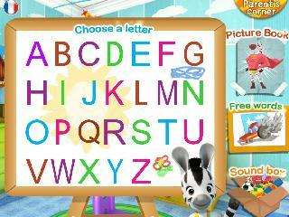 learn the alphabet with zou