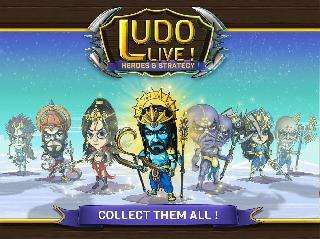 ludo live: heroes and strategy
