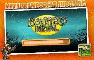 metal rambo war shooting