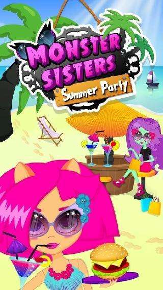 monster sisters summer party