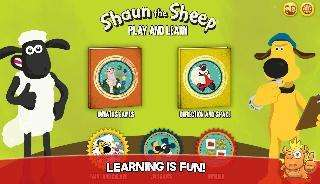shaun learning games for kids