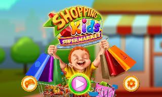 shopping kids supermarket