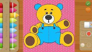 teddy - coloring book for kids