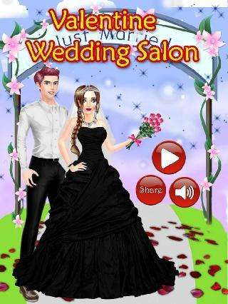 valentines day wedding salon