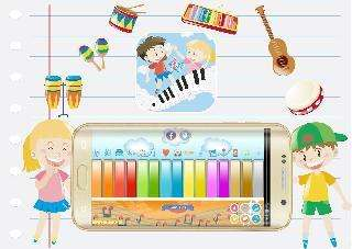 virtual piano: kids piano