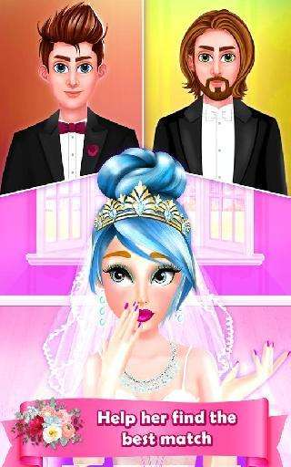 wedding love story - bride and groom makeover