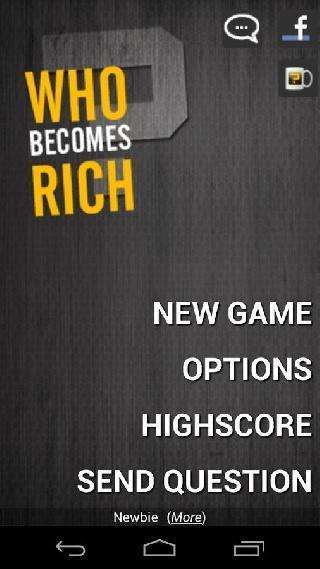 who becomes rich (trivia quiz)