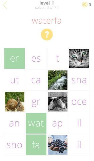 1 clue: words and syllables