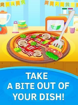 baby kitchen. pizza chef free