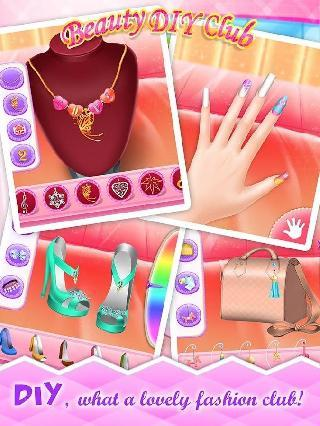 beauty diy club - girls games