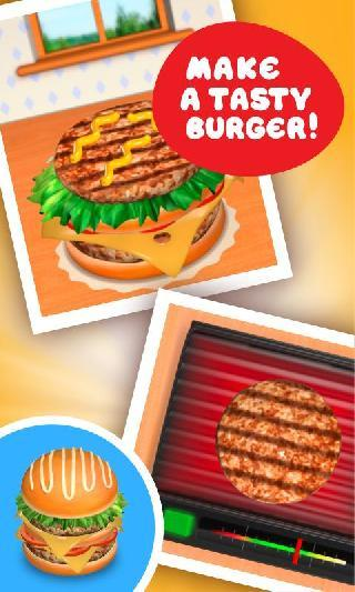 burger deluxe - cooking games