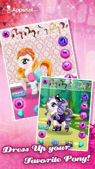 fashion pony dress-up