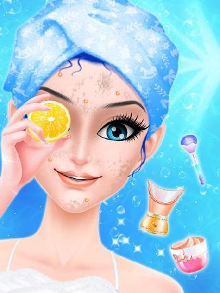 ice queen magic spa and makeover
