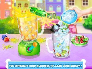 icy food maker: frozen slushy